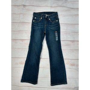 Girls bootcut jeans size L 6 slim